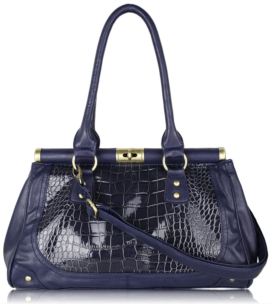 Elegance Of Living Blue Handbag