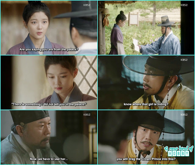 someone gave letter to ra on to come to the palace - Love In The Moonlight - Episode 14 Review (Eng Sub) - park bo gum & kim you jung