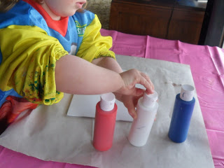 activities for kids, colour mixing activity, learn about colours