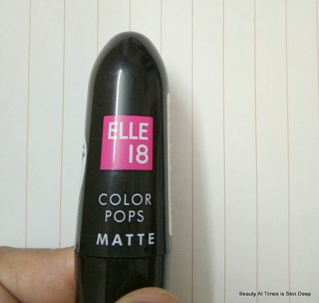 Elle 18 Color Pop Matte Lipstick Coral Dose