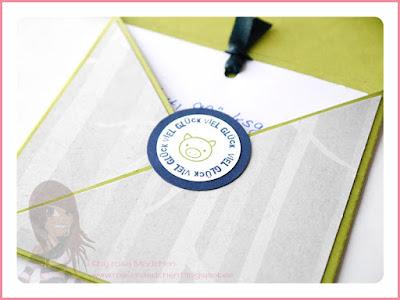 Stampin' Up! rosa Mädchen Kulmbach: Explosionsbox mit Bärchen aus Fa-la-la-la Friends und Ein Gruß für alle Fälle