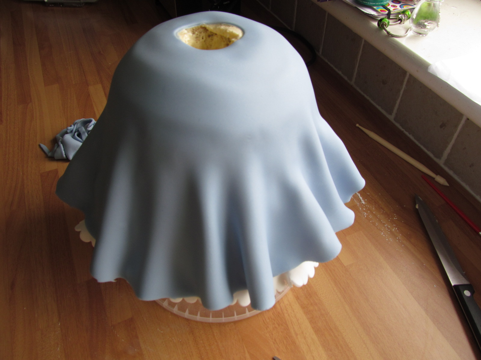 Good Food Shared How To Make A Cinderella Doll Cake