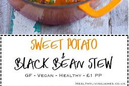 Sweet Potato & Black Bean Stew
