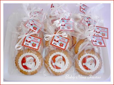 galletas feliz navidad