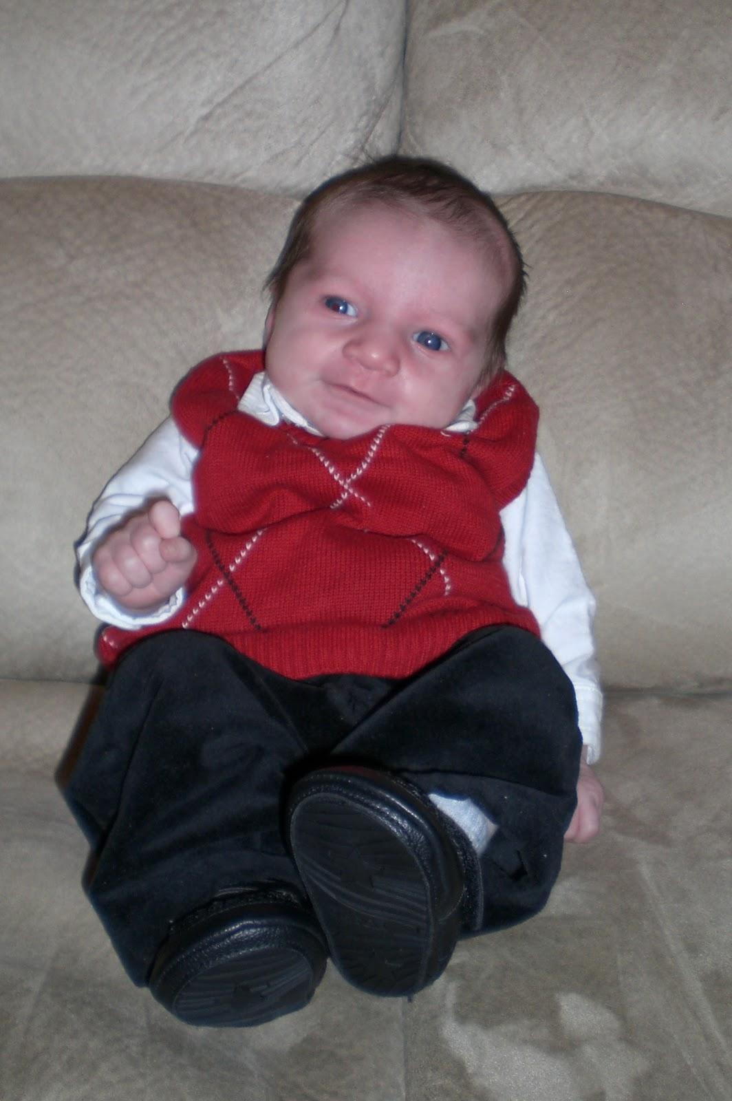 Jon and Summer Buchanan: 1 month old!