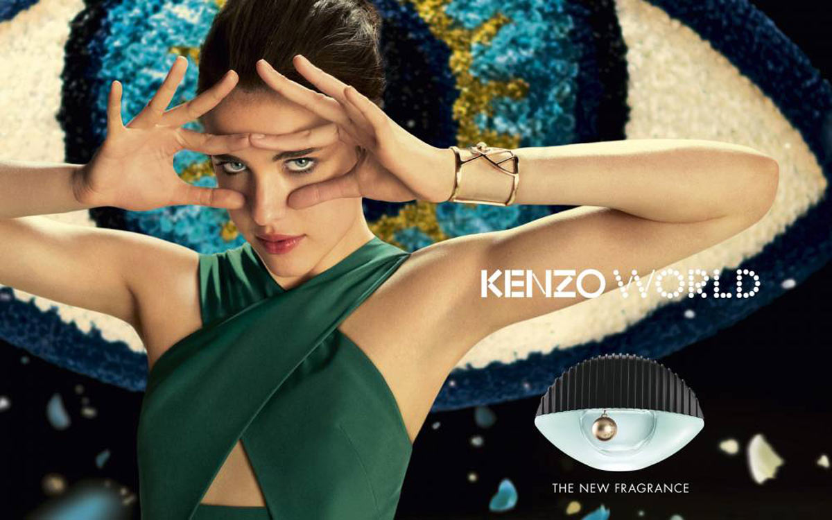 KENZO WORLD - campaña - Margaret Qualley