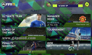 Download FIFA 14 Mod PES 2018 by FernanGamex