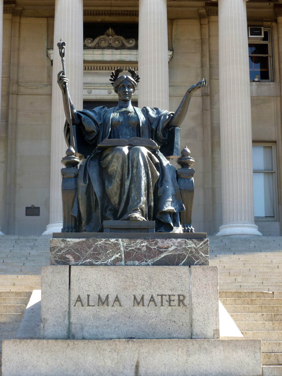 Photo Ops Epic Beings Athena As Alma Mater Columbia