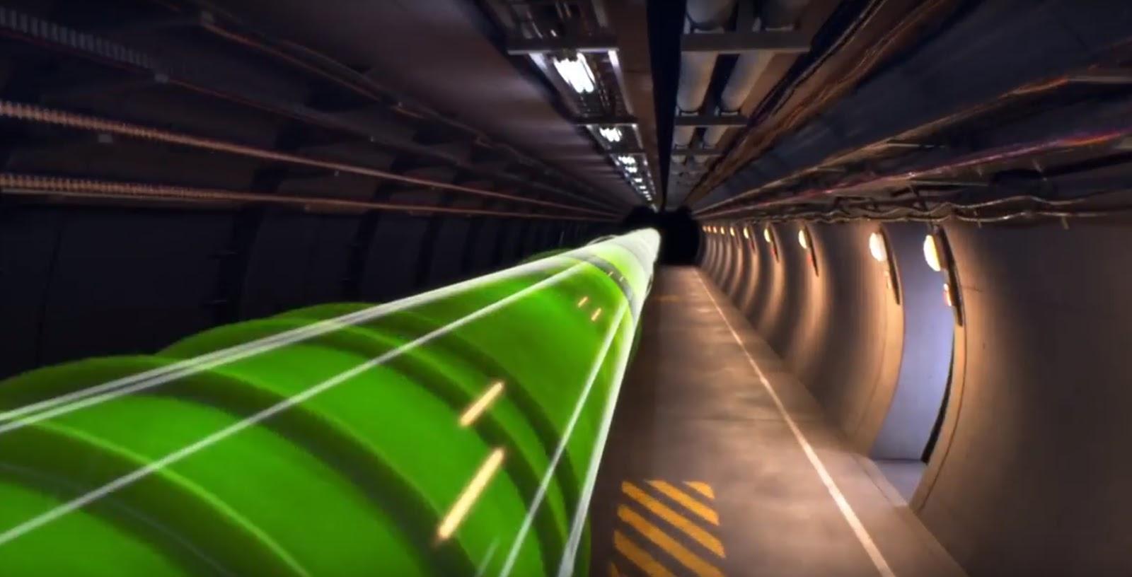 Sabine Hossenfelder: Backreaction: CERN produces marketing video for