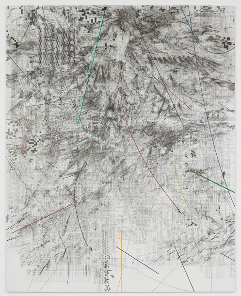 drawing Julie Mehretu Mogamma