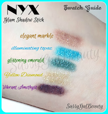 NYX Glam Stick: Swatch
