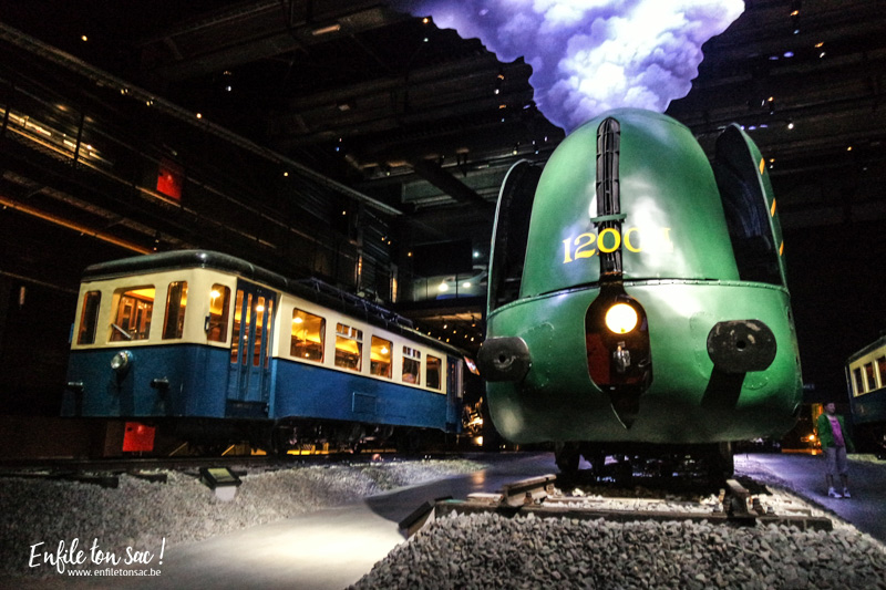 Train world, musée du train, Bruxelles, l'univers du chemin de fer en Belgique