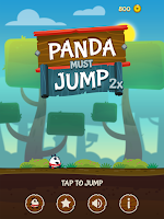 Download Game Panda Must Jump Twice v1.1 Mod Apk (Unlocked)