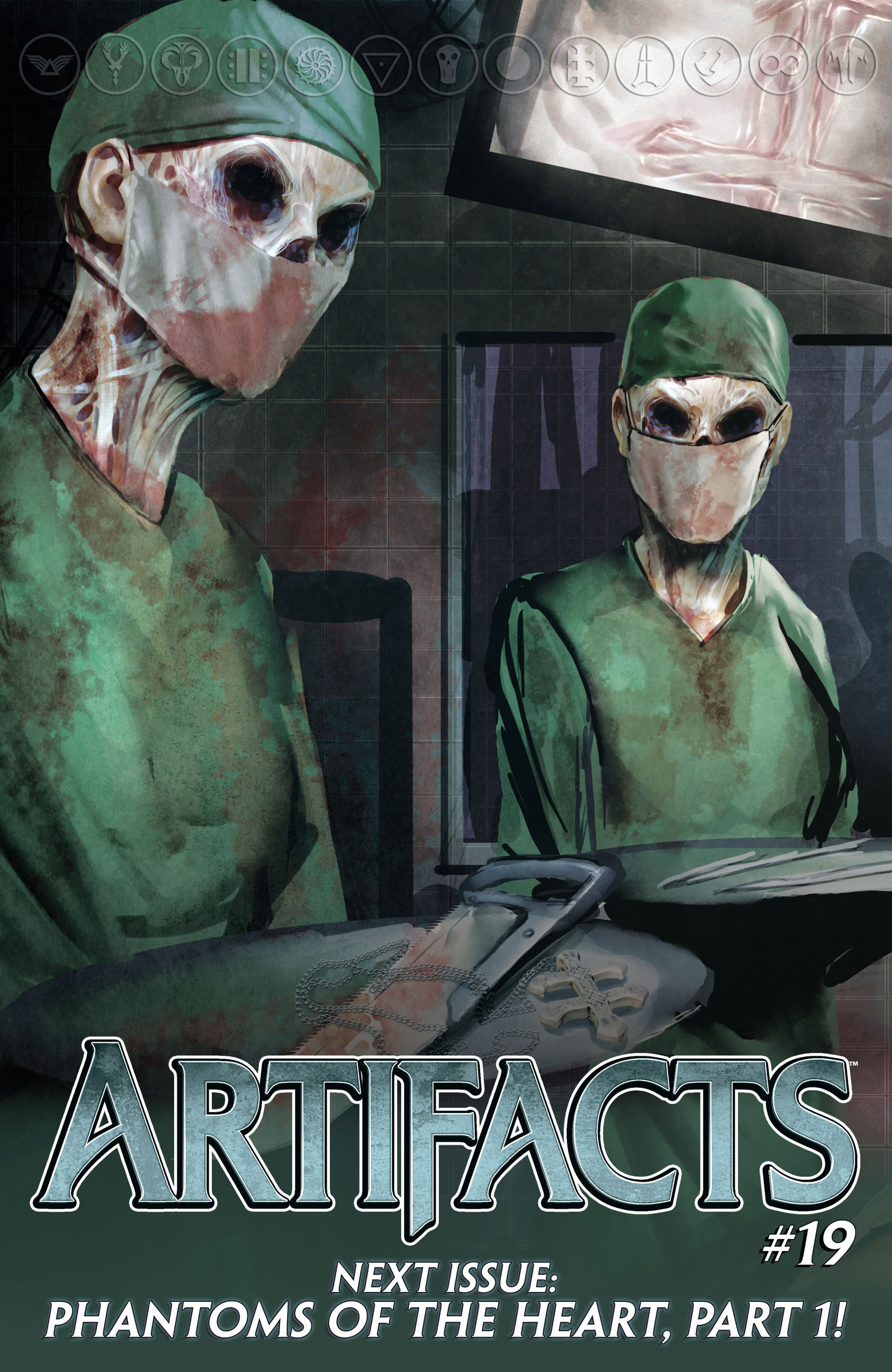 Read online Artifacts comic -  Issue #18 - 22