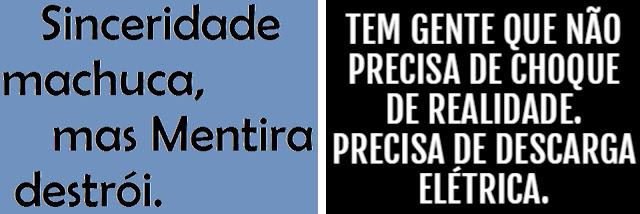 CHOQUE DE REALIDADE - É o que o Brasil está precisando urgente!