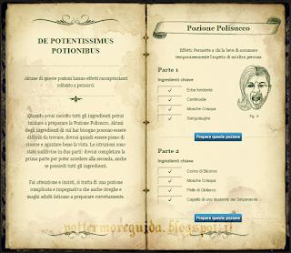 De Potentissimis Potionibus: gli ingredienti per la Pozione Polisucco