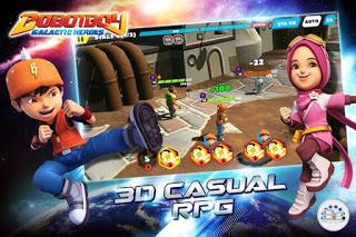 BoBoiBoy Galactic Heroes RPG Apk Full Mod