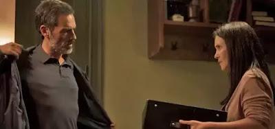 Gabo (Felipe Duarte) vai aceitar a sugestão de Thelma (Adriana Esteves)