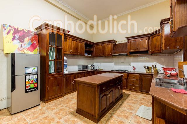 Những gian Bếp đầy đủ tiện nghi
