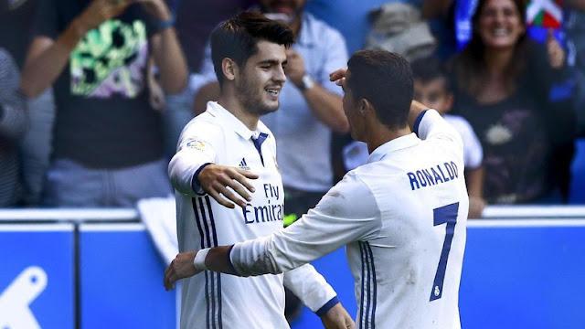 Siapa yang Sebaiknya di Beli Oleh MU menurut Schmeichel, Ronaldo atau Morata ?