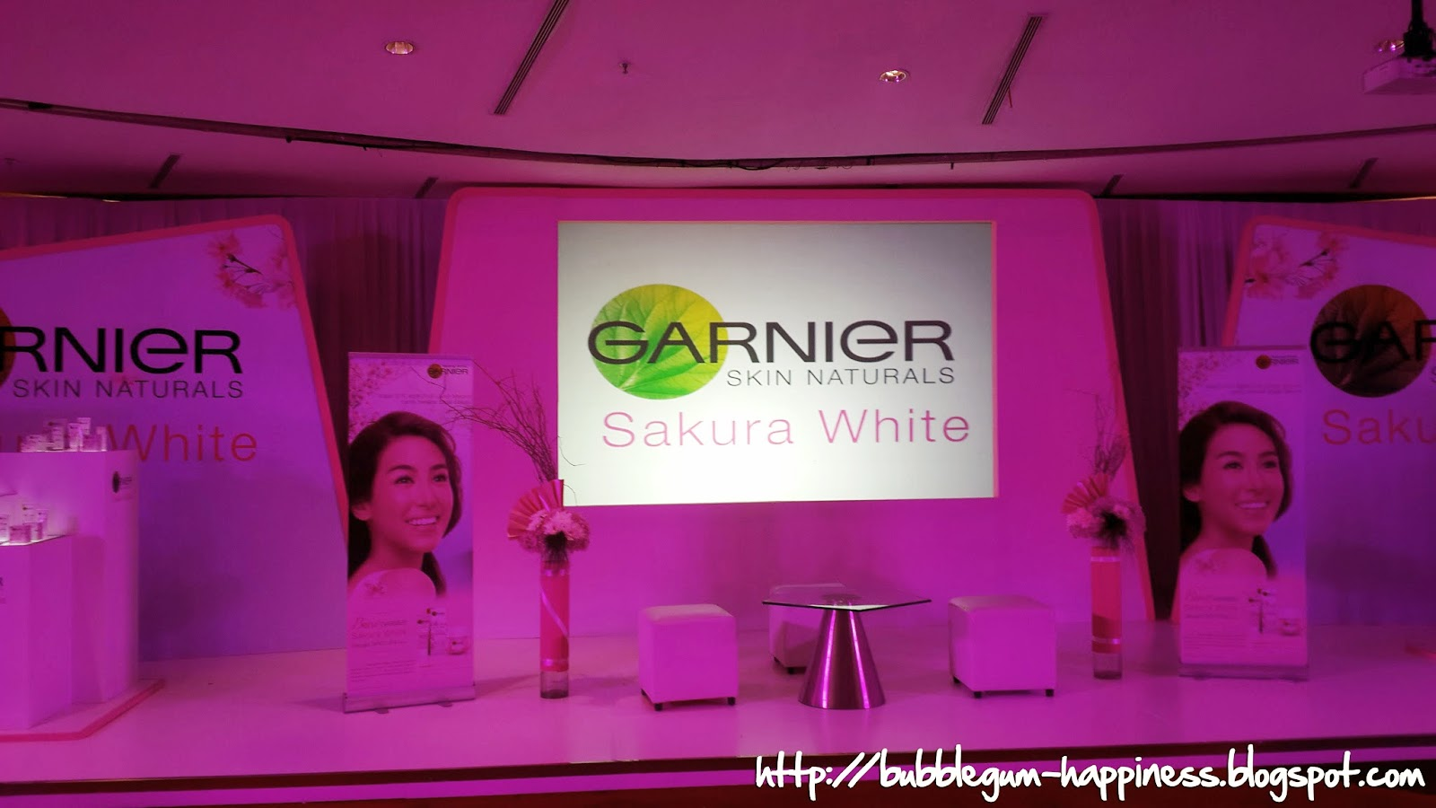 Bubblegum Happiness Event Garnier New Product Launch