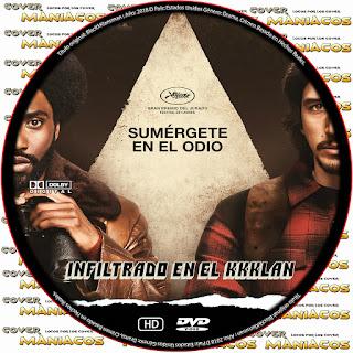 GALLETABlacKkKlansman - El infiltrado del KKKlan 2018 [ COVER DVD]