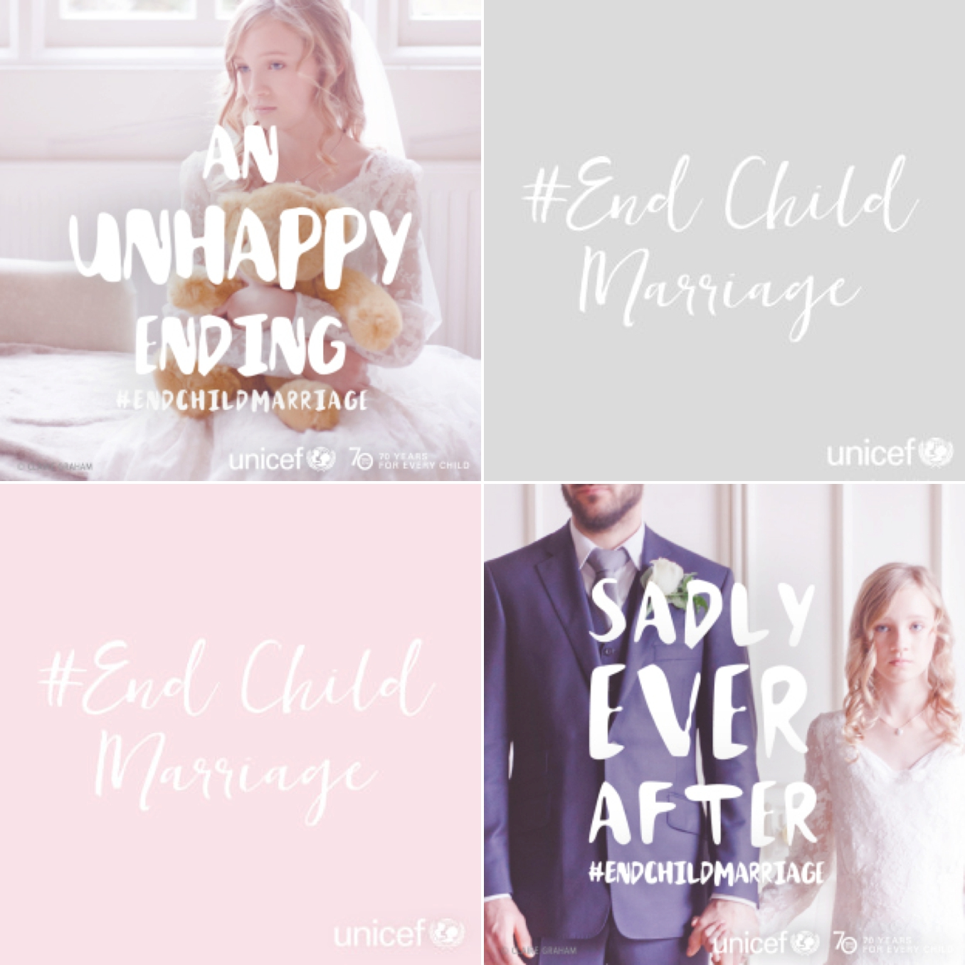 UNICEF #EndChildMarriage campaign from Bridal Musings and STUDIO 1208. Photos by Claire Graham