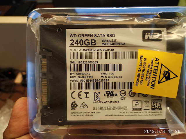 ssd western digital 240 GB murah meriah sekarang harganya