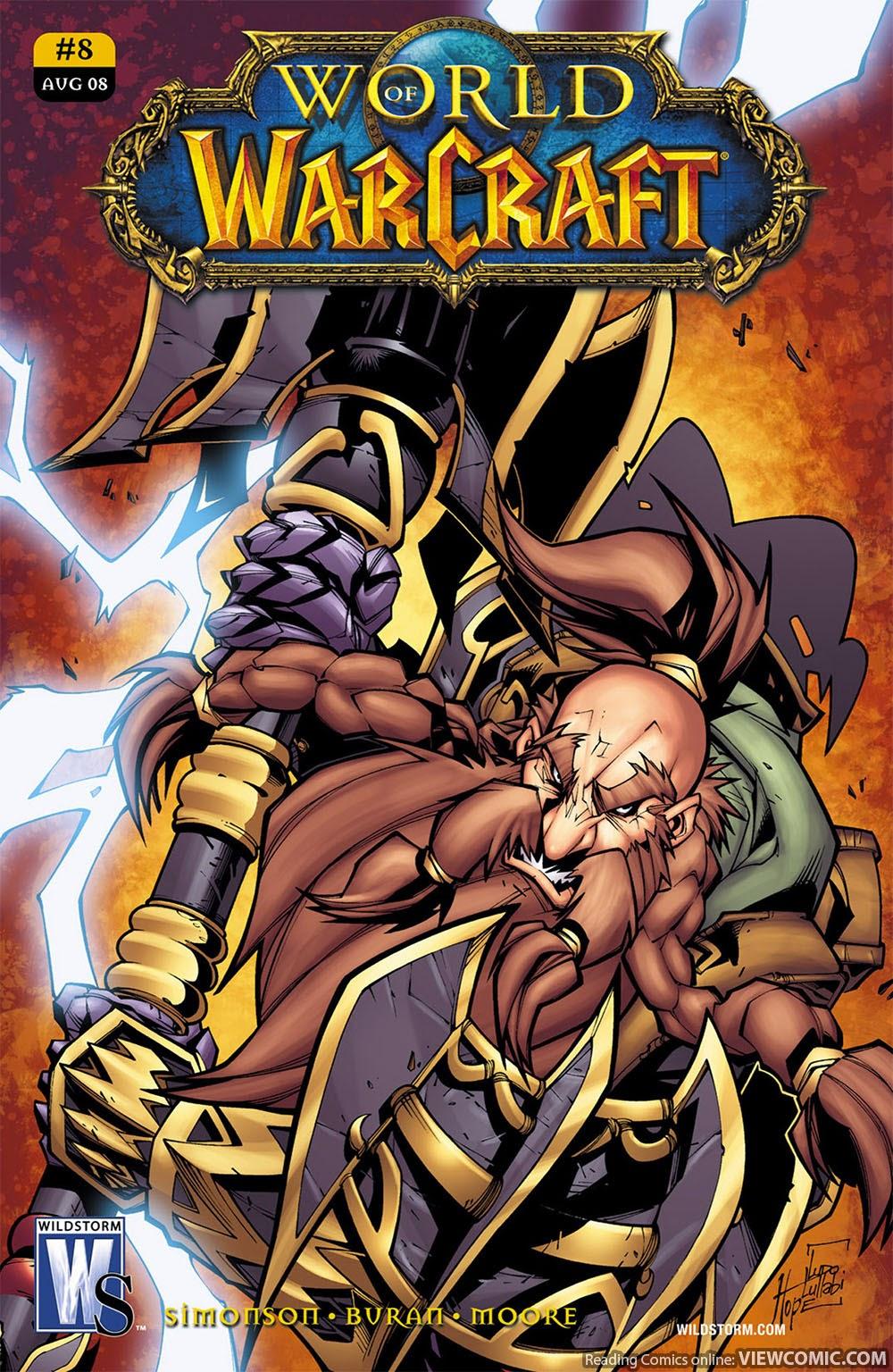 Warcraft Comic Book