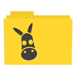 Preview of Yellow Emule software folder icon