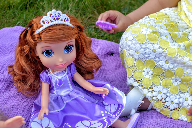 Jakks Disney Princess Toddler Dolls Tea Set Party