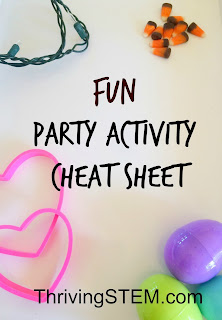 Super Fun Holiday Party Activity Cheat Sheet