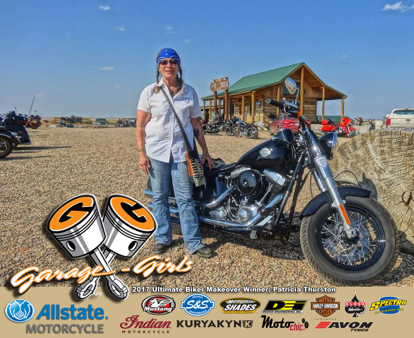 Garage Girls And Allstate Motorcycle Insurance Are Proud To Announce This Years Ultimate Biker Makeover Winner Patricia Thurston