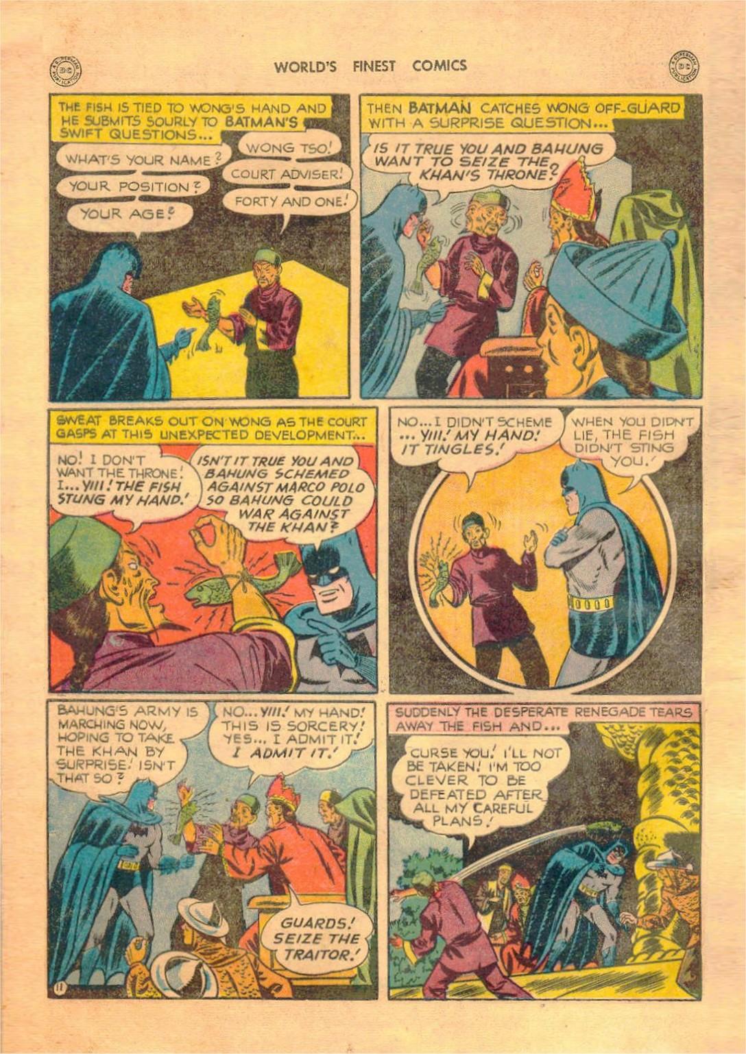 Read online World's Finest Comics comic -  Issue #42 - 72