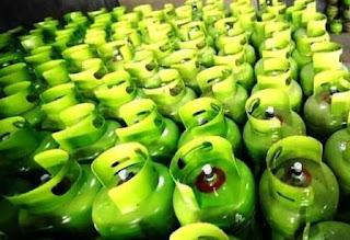 gudang distributor elpiji Pertamina di Jakut