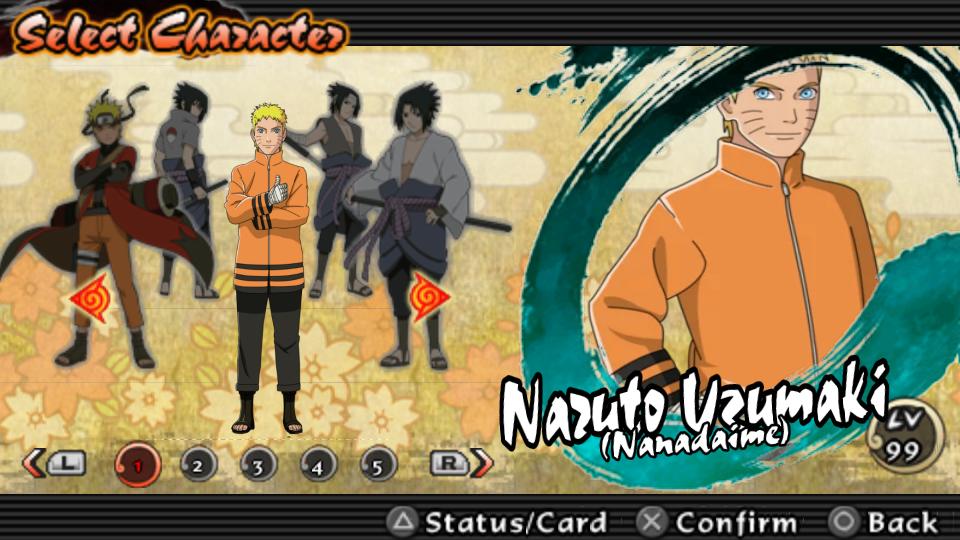 Game Naruto Shippuden Ultimate Ninja Impact Versi Game Ulus10582 Character Mod Naruto Uzumaki Modder Am Link Download Tutorial Cara Pemasangan