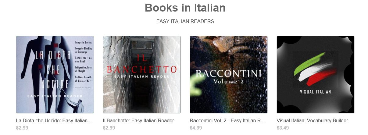 Online shopping for Italian Books from a