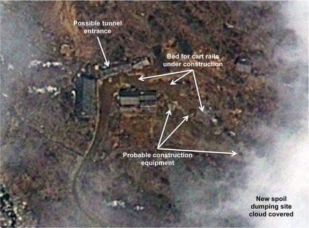 Terowong Ujian Nuklear Korea Utara Runtuh, 200 Pekerja Terbunuh