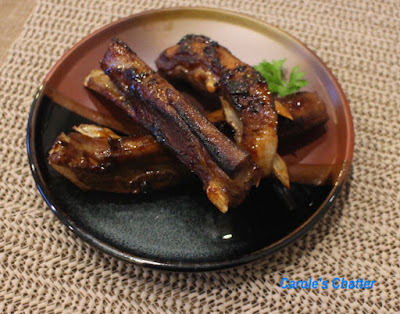 Carole's Chatter: Lamb Spare Ribs - Chinese style