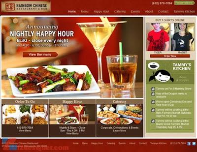 Thiết kế website nhà hàng chuẩn SEO nhất chỉ có tại ONME