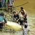 Tewas Dimangsa Buaya Saat Mencari Ikan di Sungai