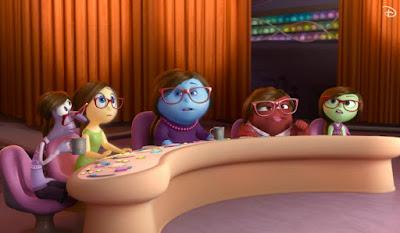 vice versa film d'animation dessin animé pixar personnages dans la tête de la mère avis critique cinématographique