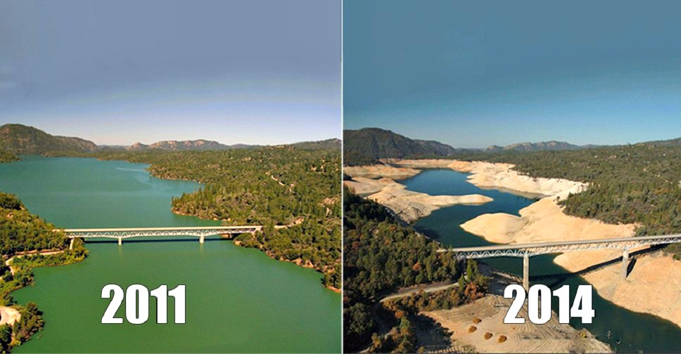 You Still Think Climate Change Is A Hoax These 20 Before-And-After Photos Will Leave You Speechless!