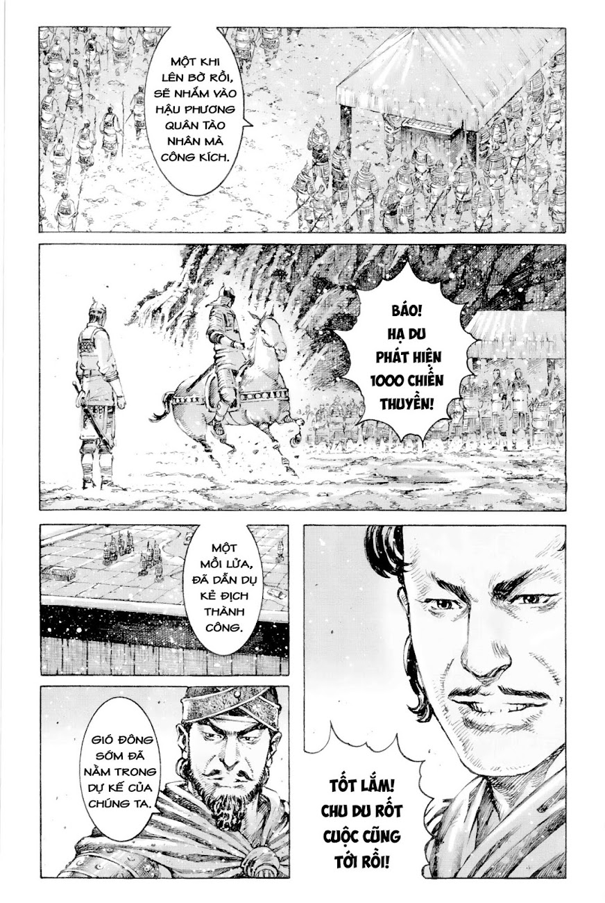Hỏa phụng liêu nguyên Chương 414: Phong hỏa Xích Bích [Remake] trang 12