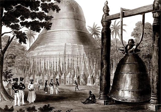 The big Shwedagon Bell