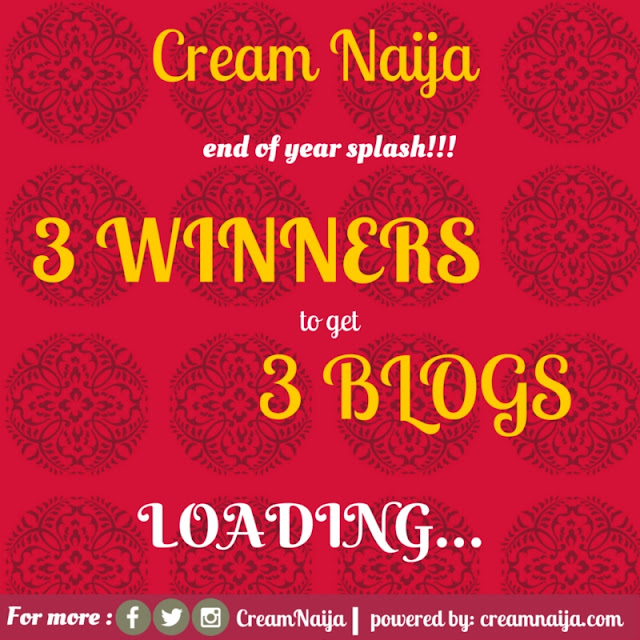 3 WINNERS 3BLOGS- NEVER SEEN THIS KINDA OFFER BEFORE!!