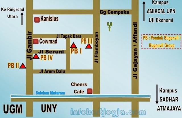 Info Kost Jalan Kaki Dari UGM