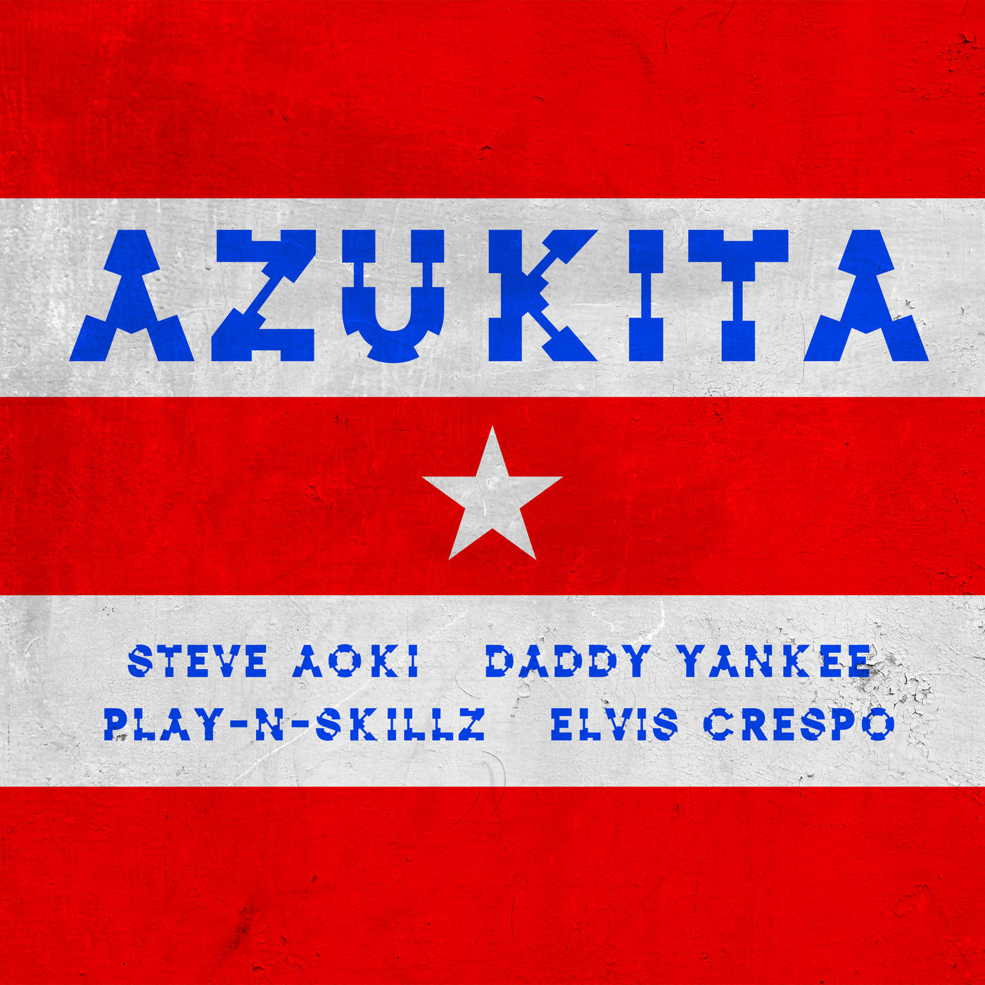 Steve Aoki, Daddy Yankee, Play-N-Skillz & Elvis Crespo - Azukita - Single Cover