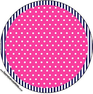 Marinerita Rubia: Wrappers y Toppers para Cupcakes para Imprimir Gratis.