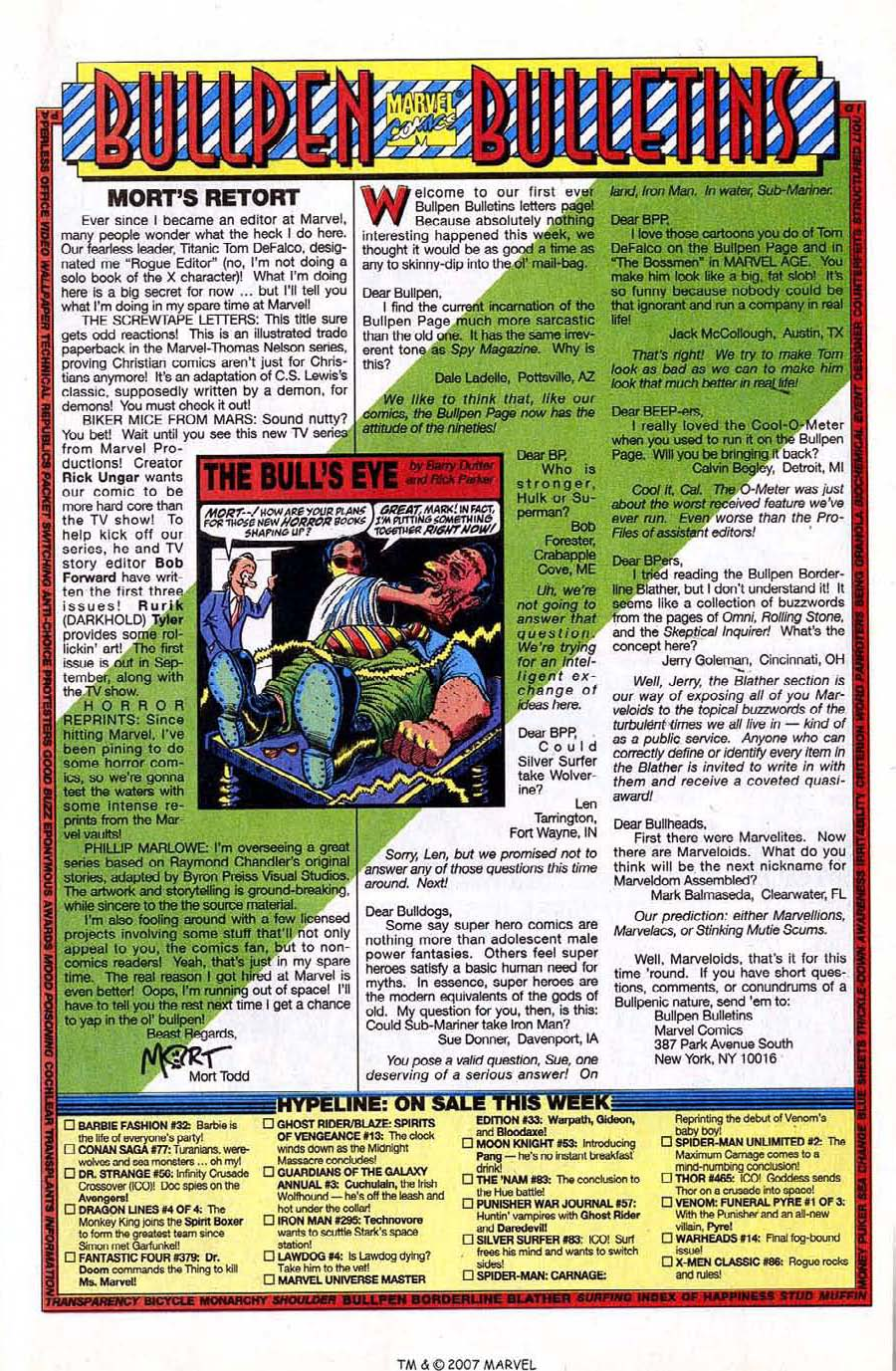 Read online Silver Surfer (1987) comic -  Issue #83 - 25